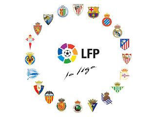 Klasemen dan Jadwal Pertandingan Liga Spanyol 2012