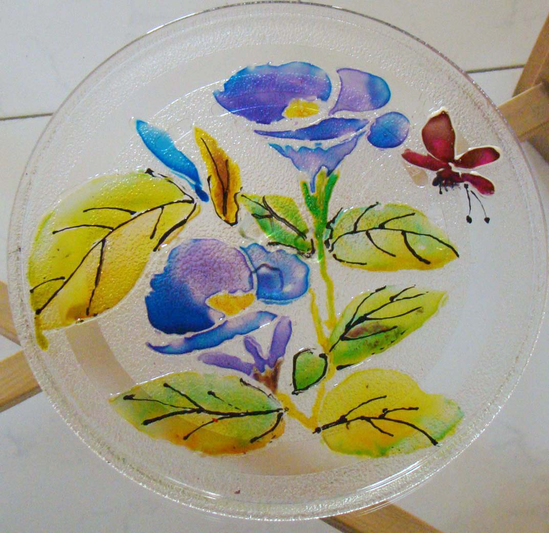 Fab hobby ideas 7 glass painting the fun paints for Crafts and hobbies ideas