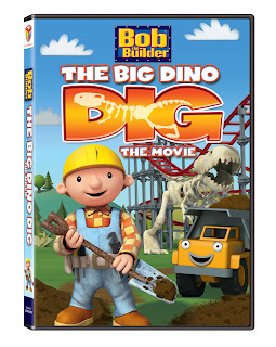 My Kansas City Mommy: Bob the Builder: The Big Dino Dig Movie DVD ...
