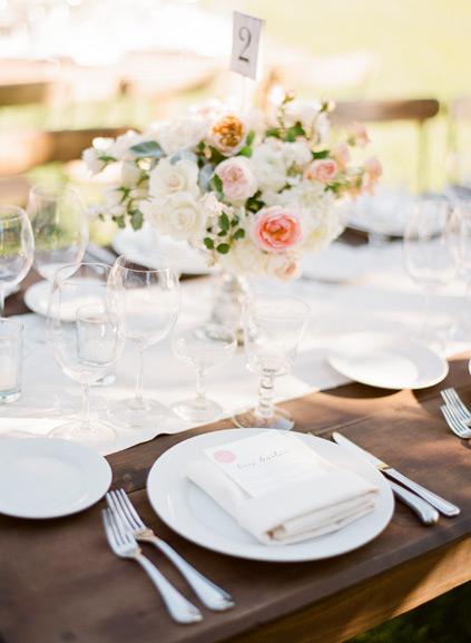 decoracion mesa boda exterior