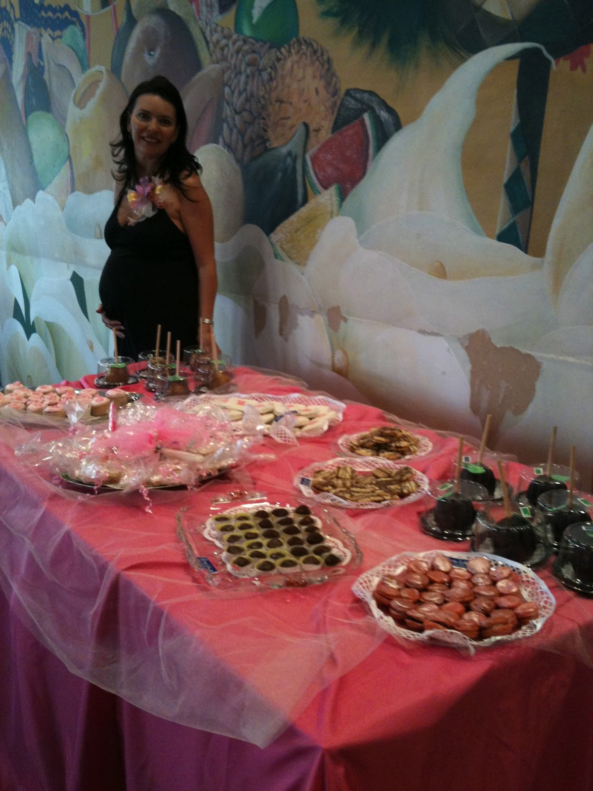 bola s reposteria mesa de dulces para baby shower cake on pinterest