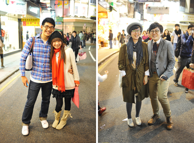 Hong Kong Street Fashion Streets And Stripes