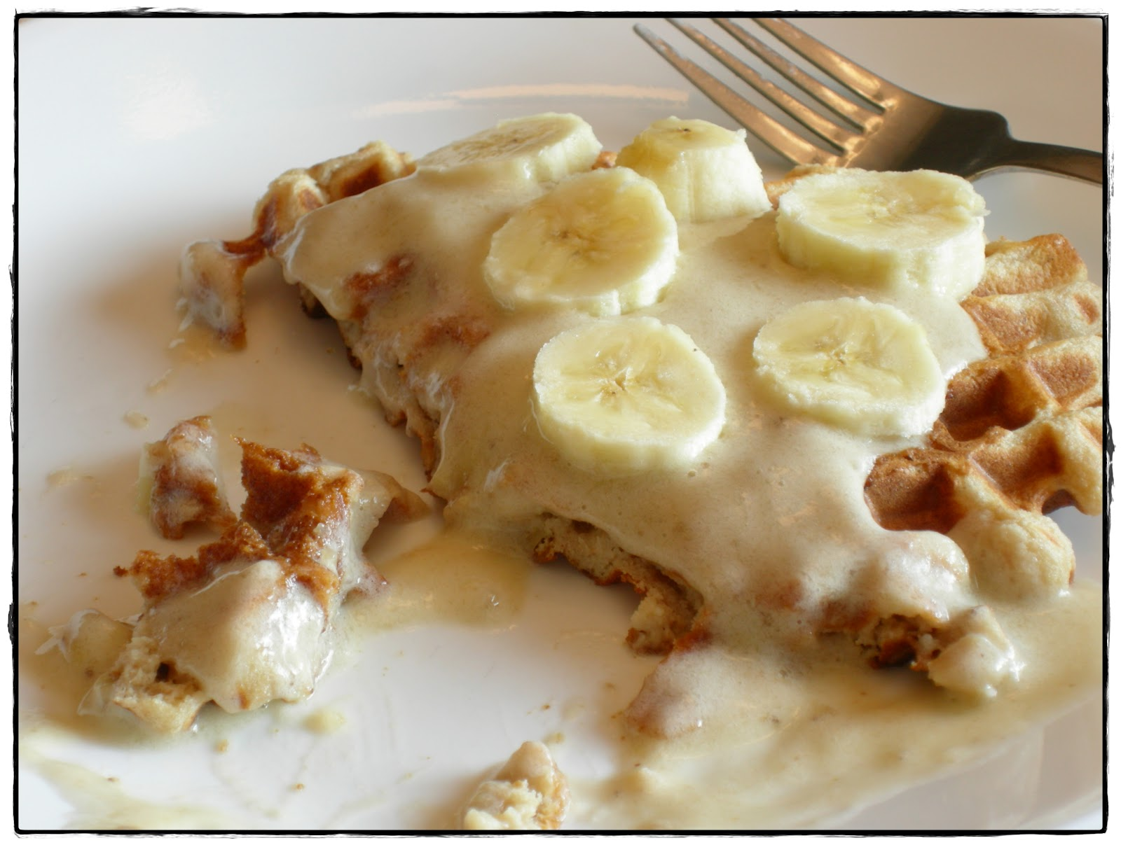 Additive-Free Eats: Maple Walnut Waffles w/Banana Soft Serve