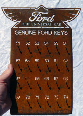 Model T Ford key board