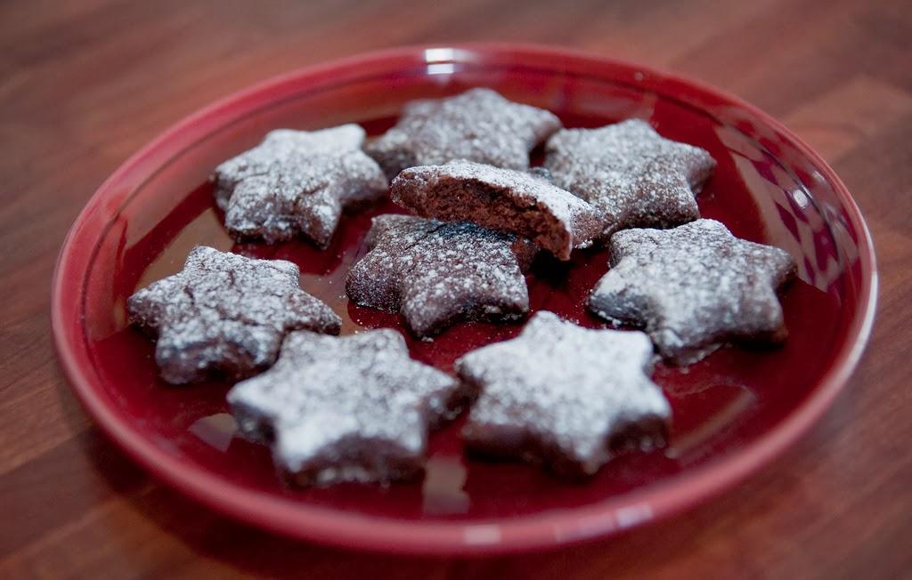 Eco Vital poleca Brunsli jako ciasteczka świąteczne.