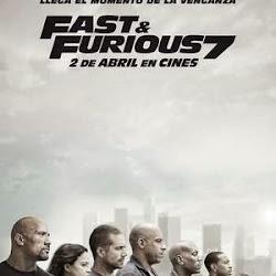 Poster Furious 7 2015