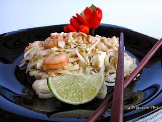Pad Thai. La recepta viatgera