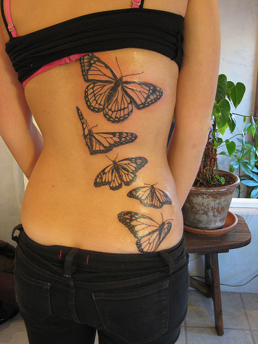 tattoos for girls on ribs quotes. Tattoos On Rib Cage For Girls