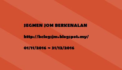 SEGMEN JOM BERKENALAN by #JMBELOG