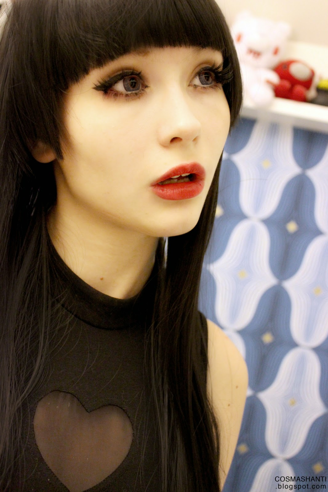 Sassy Luscious Eyes with Beuberry Vivid Red Circle Lenses