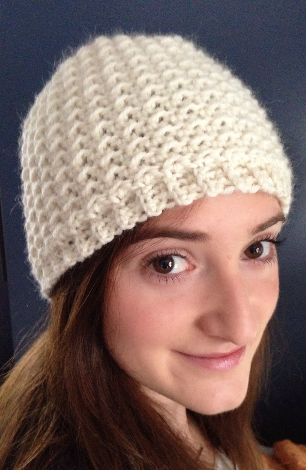 Free Crochet Pattern For Ladies Beanie Hat : Ball Hank n Skein: Oh So Seedy Beanie - Free Crochet Hat ...