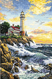 Dimensions Cross Stitch Rocky Point