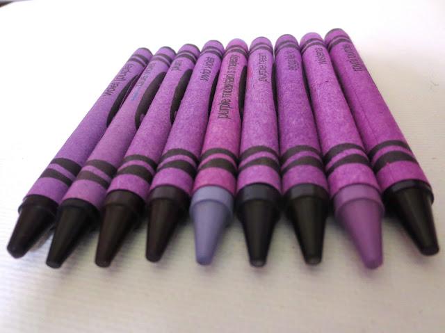 Purple Crayola Crayon Princesses, Pie...
