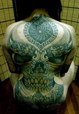 Fotos de tatuagens de caveiras legais