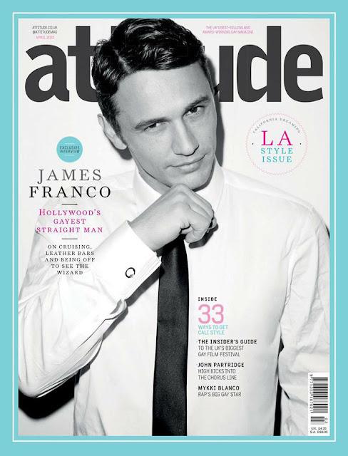 James Franco Attitude Magazine April 2013