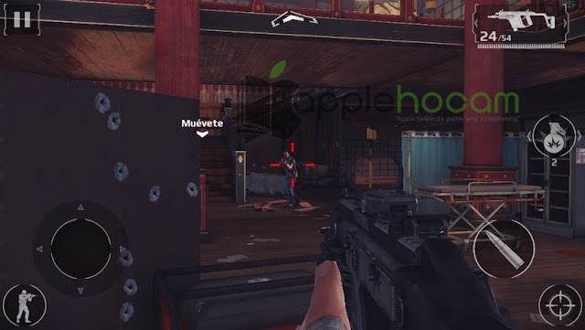 Apple TV ilk FPS Oyunu Modern Combat 5 Blackout