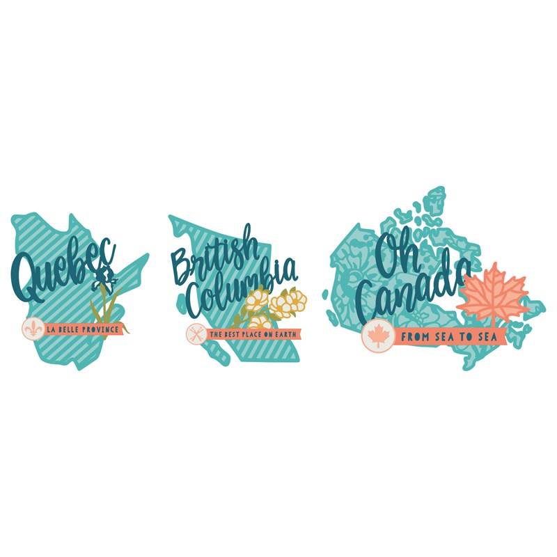 CTMH's Cricut Hello Canada Digital Collection (Z3391)