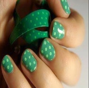 Dotting nail art designs for short nails