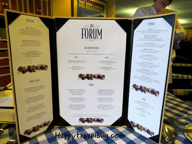 The Forum menu