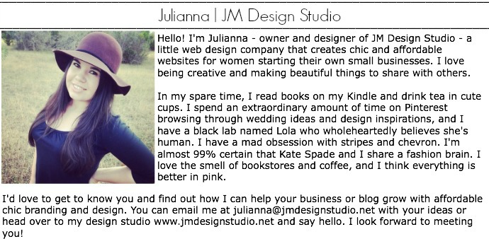 JM Design Studio, web design, graphic design, branding