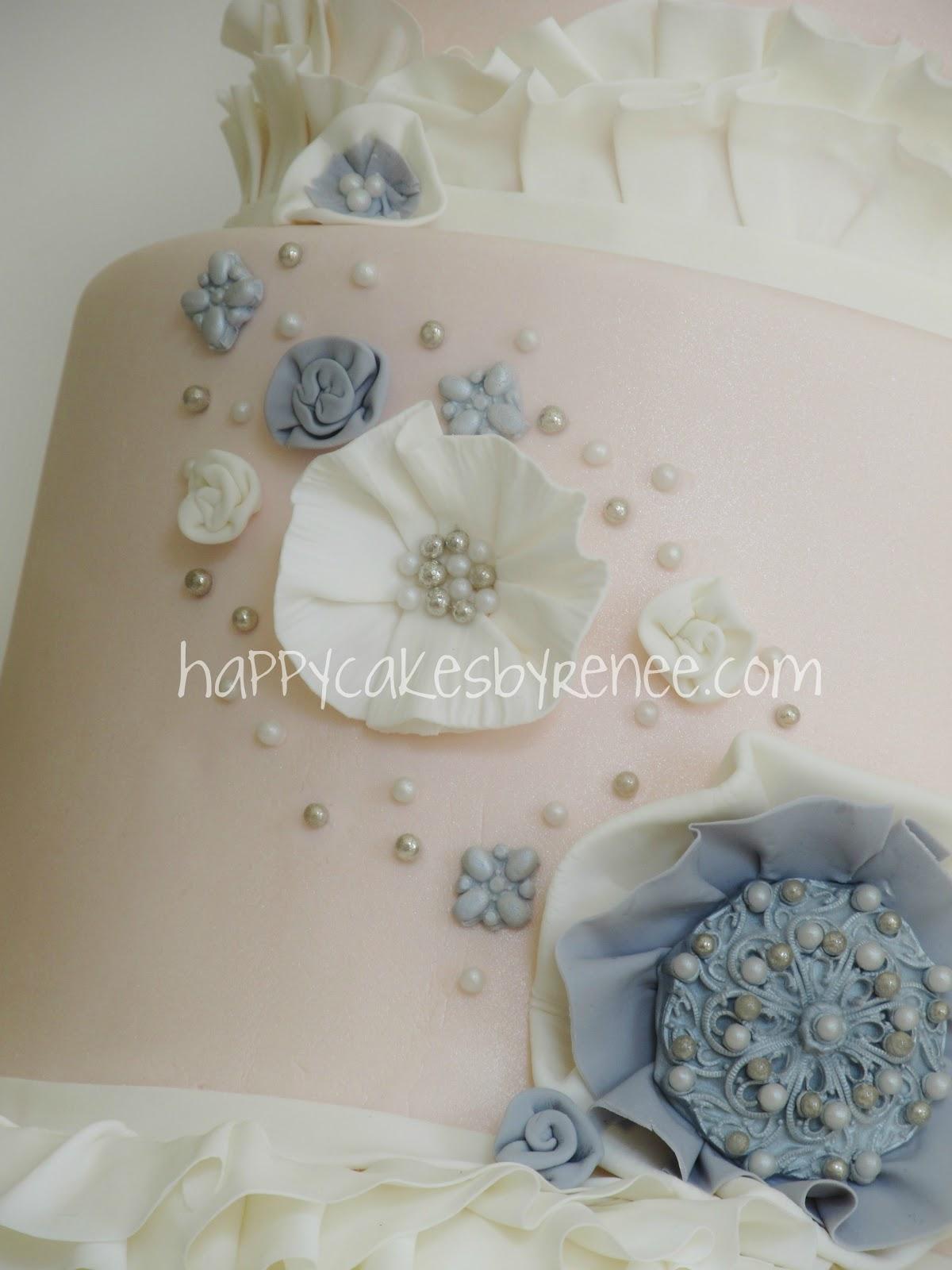support dragees en forme wedding cake