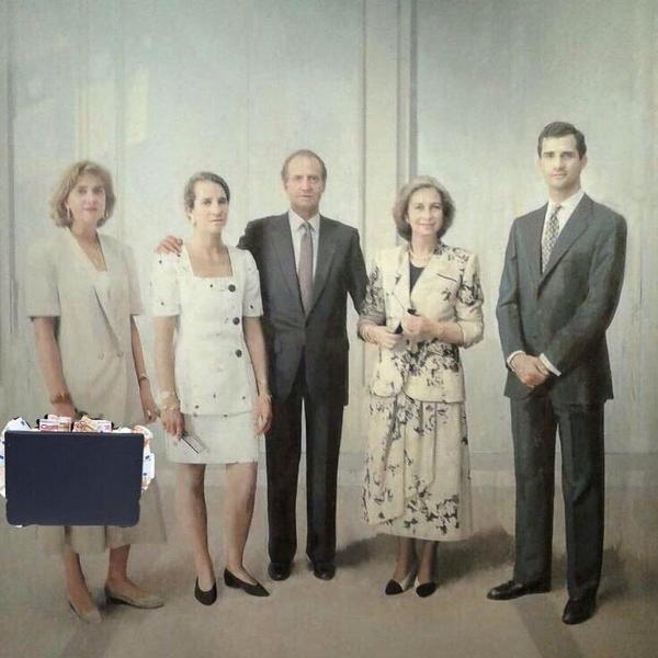 memes,familia real,Antonio López