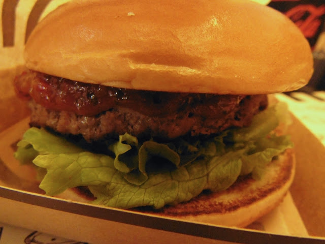 The Spciy burger from #TheSignatureCollection at McDonald's UK