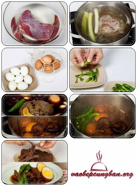Cách làm thịt bắp bò kho kiểu Hàn1