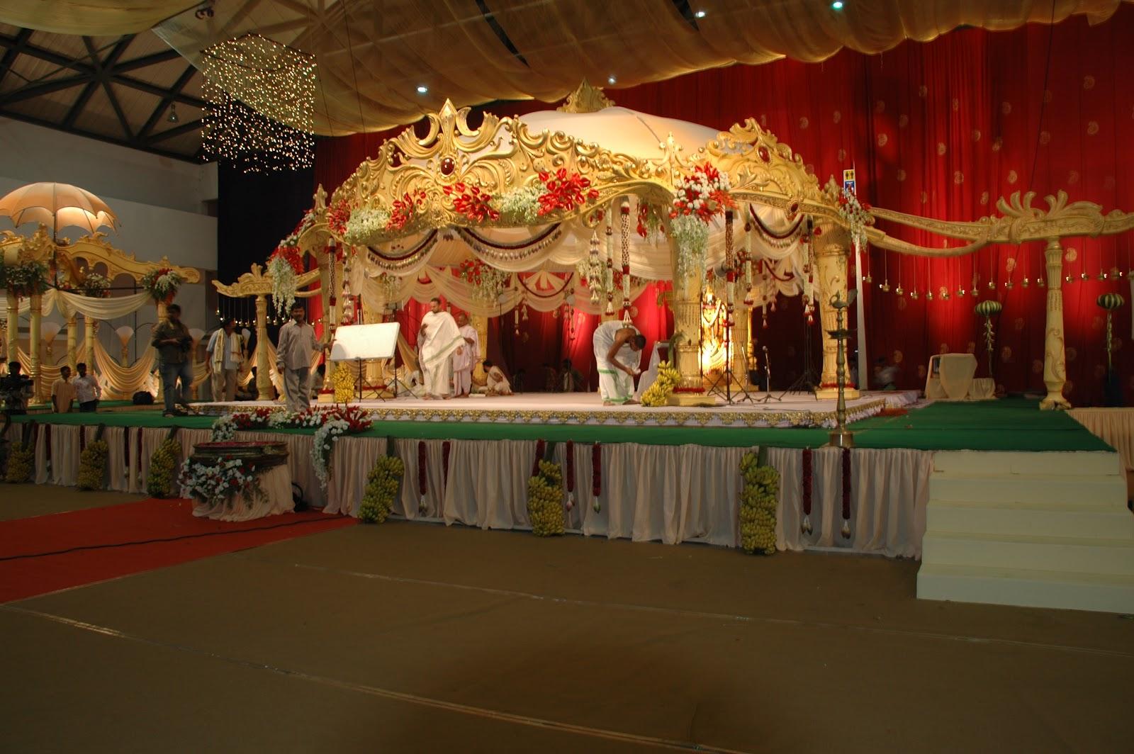 Indian Wedding Stage Sets designs