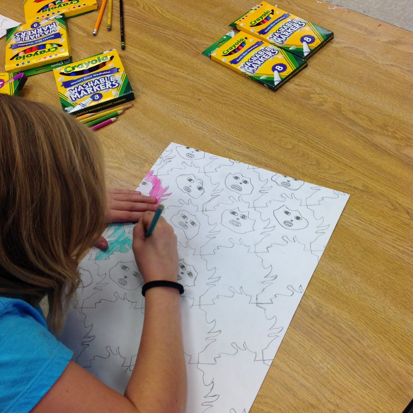 Fifth Grade Tessellations Art  Lesson Project