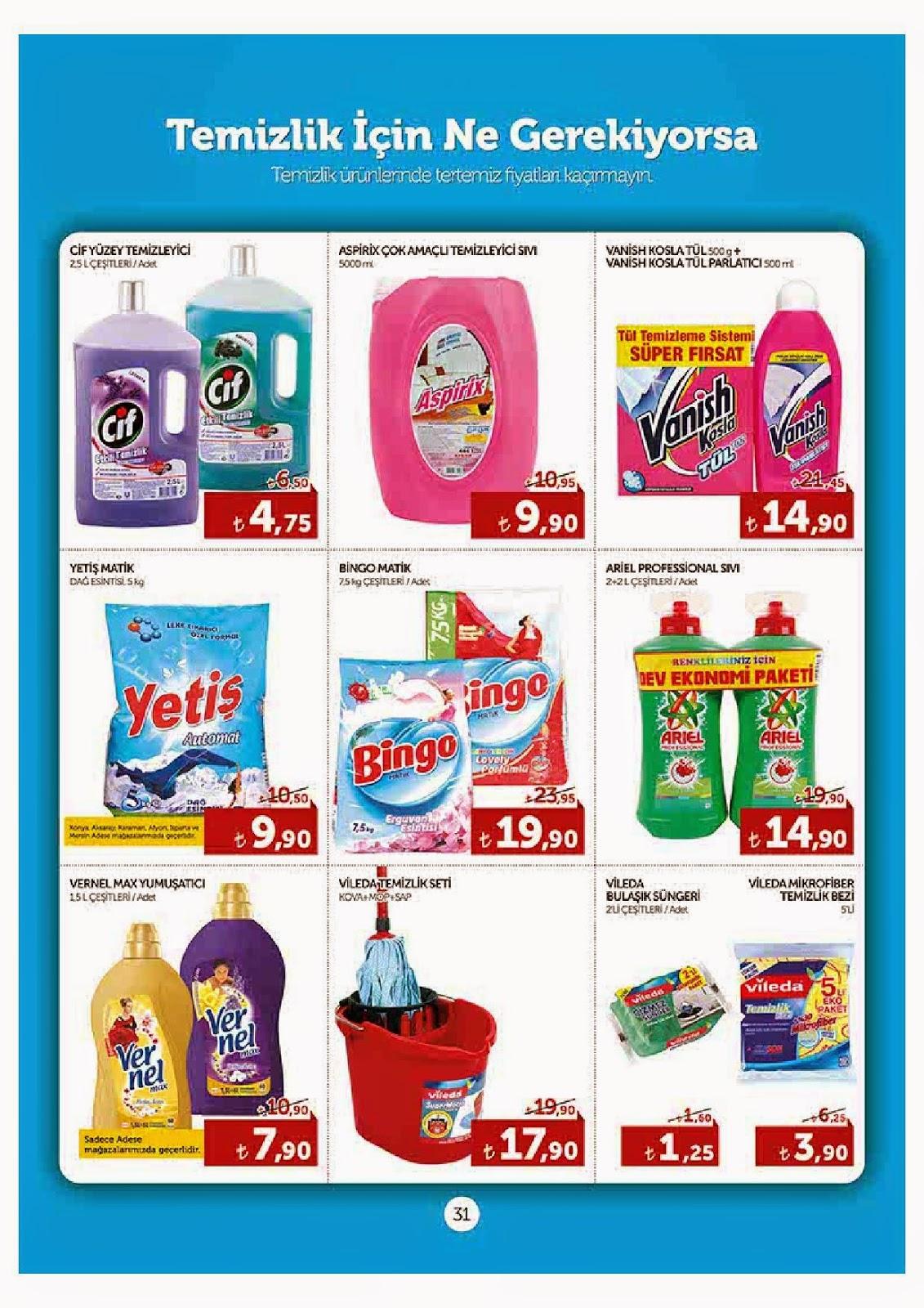 Adese Ve Adesem 2 Mayıs - 15 Mayıs 2014 tarihlerindeki Güncel Broşür,İndirim Katalog , Market Kataloğu,Aktüel Ürünler,Adese Ve Adesem 2 Mayıs - 15 Mayıs 2014  aktüel ürünleri mayıs kataloğu sizlerle. Adese Ve Adesem 2 Mayıs - 15 Mayıs 2014  aktüel ürünlerine ait bu konumuzda katalogları bulabilirsiniz Bu katalog ile Adese Ve Adesem 2 Mayıs - 15 Mayıs 2014 tarihinde gelecek ürünleri görebilir ve fiyatları hakkında bilgi sahibi olabilirsiniz.