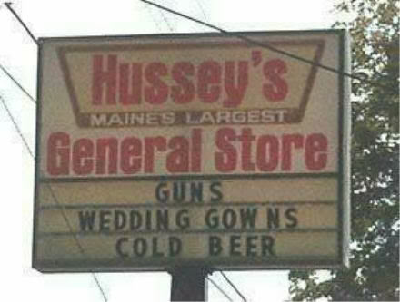 Swing by the general store