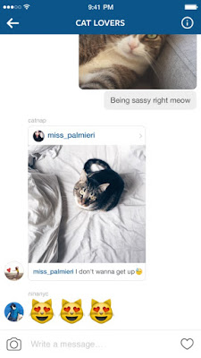 Instagram update brings threaded messaging to Android and iPhone
