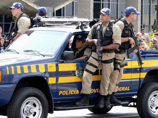 PRF captura assaltantes de ônibus coletivo em Nossa Senhora do Socorro