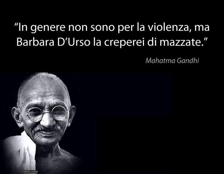 Favorito Gandhi - Eccezioni ~ Citazioni e frasi improbabili dei personaggi  TQ51