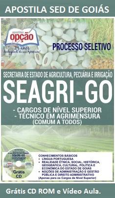 Apostila SED-GO - Técnicos em Agrimensura - SEAGRI-GO 2016