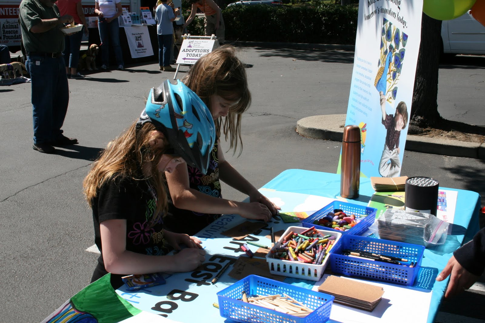 kidzart east bay earth day with sports basement