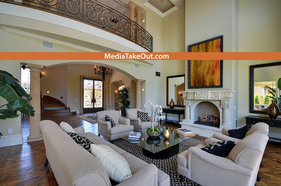 Fotos alta calidad por dentro y por fuera de la casa que for Deco maison kim kardashian
