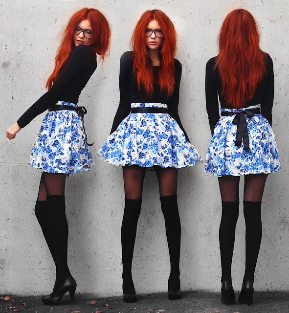 Tips para usar minifaldas en Invierno