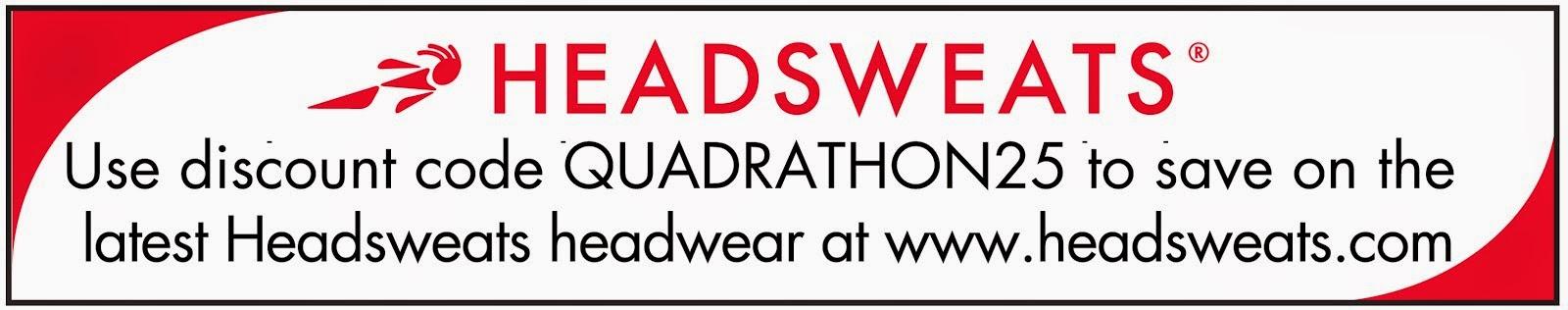 I'm a Headsweat Ambassador