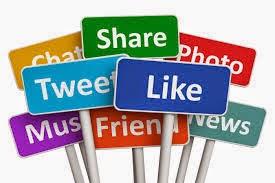 social media actions