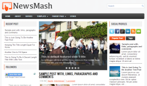 Newsmash blogger template 300x177 25+ Best Free Magazine Blogger Templates for 2013 Download