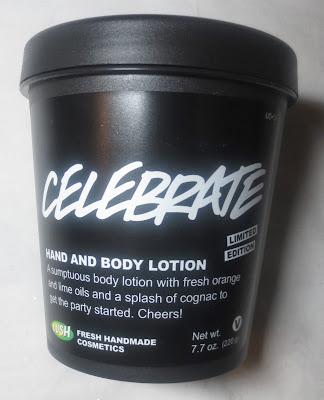 Lush Celebrate Body Lotion