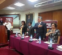 Celebración de los 60 Aniversario  de Elevación  del Pueblo  de Huañec  a la categoría de Ciudad
