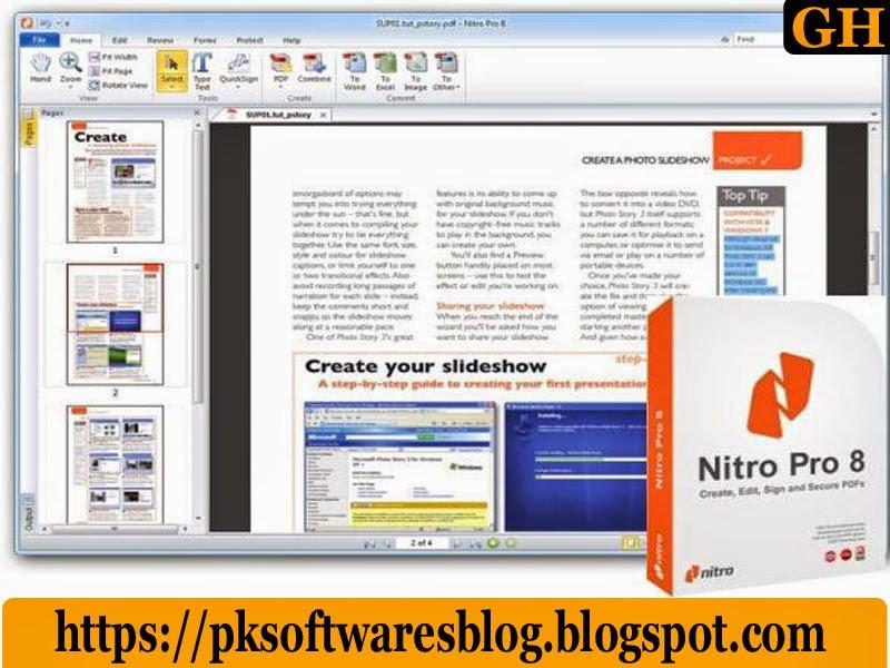 nitro pdf download for free