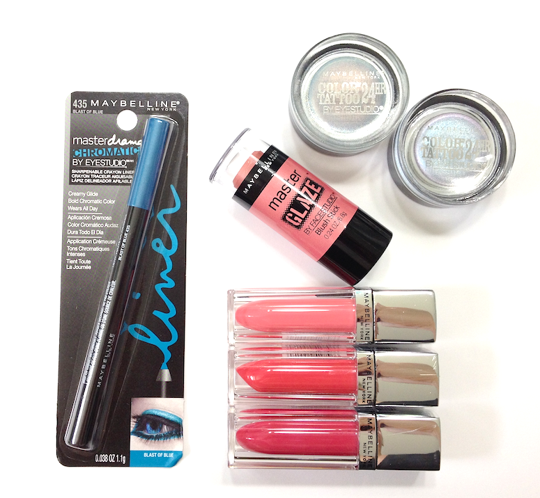 Maybelline Bleached Neons Summer 2014 Collection