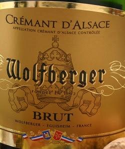 Notre vin de la semaine, de bonnes bulles de Crémant d'Alsace !