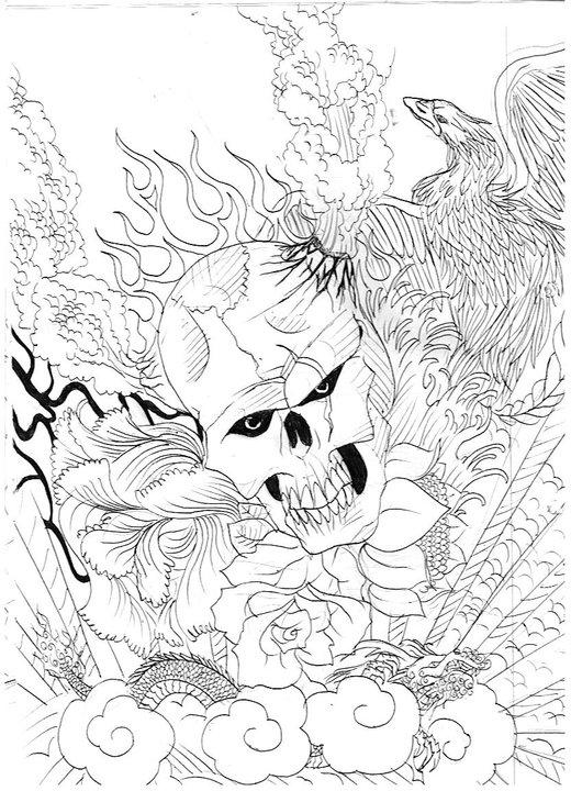 Dibujos caseros a lápiz y lapicera