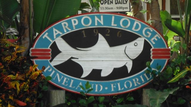 Tarpon+Lodge+Sign Tarpon Lodge On Pine Island