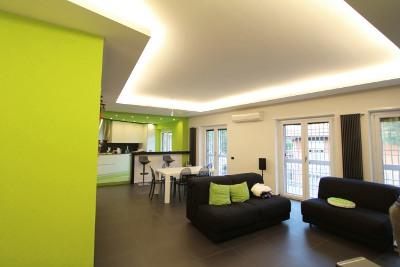 diari di un architetto: Una cucina verde mela